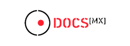 logo, docsmx, goodpitchmx, 2020, méxico
